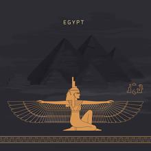 Vector Illustration Egyptian F...