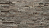 Fototapeta Kamienie - Streak stone wall covering textured and shadered seamless mapping.