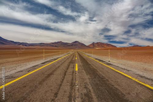 Fotografia, Obraz  Road in the high plateau of Atacama