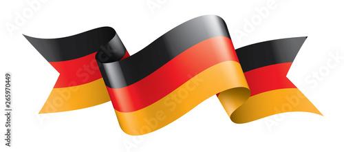 Fotografía Germany flag, vector illustration on a white background