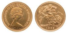 1 Gold Sovereign Royal Mint El...