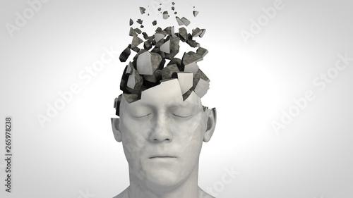 Foto Alzheimer's disease or memory loss