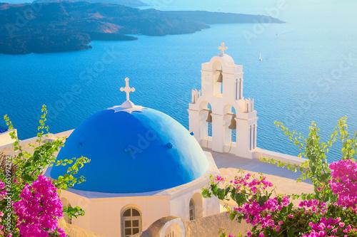 Photo  Santorini island, Greece.