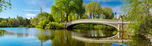 Bow Bridge In Central Park, Ne...