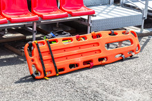 Special Orange Plastic Medical Stretcher