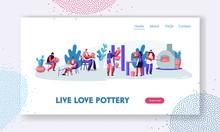 Pottery Workshop Website Landi...