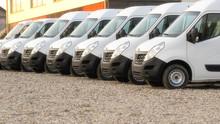 Commercial Delivery Vans Parke...