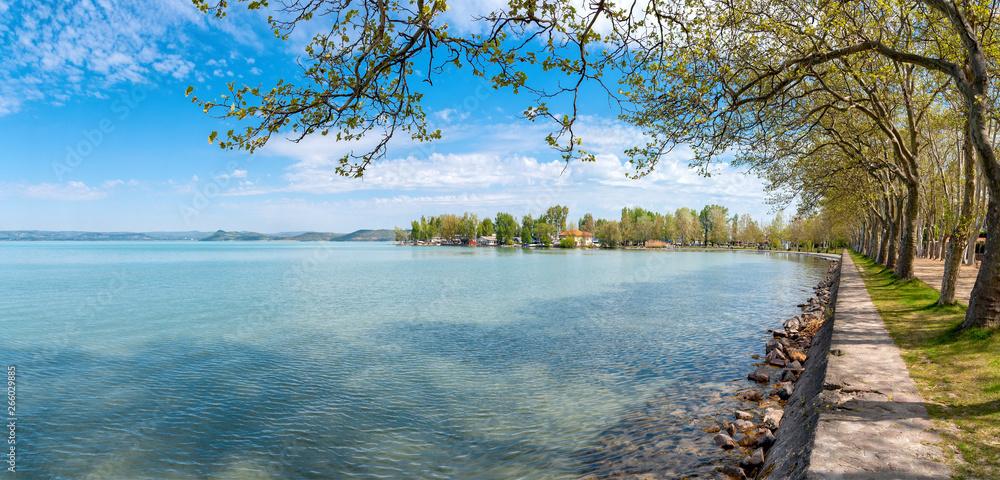 Fototapety, obrazy: Balaton lake - Balatonföldvár - Somogy - Hungary