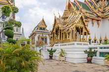 Phra Thinang Aphorn Phimok Prasat Within The Grand Palace In Bangkok