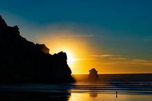 Morro Rock Sunset