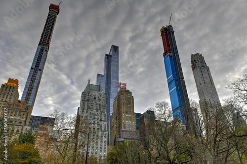 Billionaire's Row - New York City Canvas Print