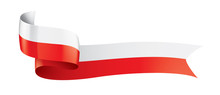 Poland Flag, Vector Illustrati...