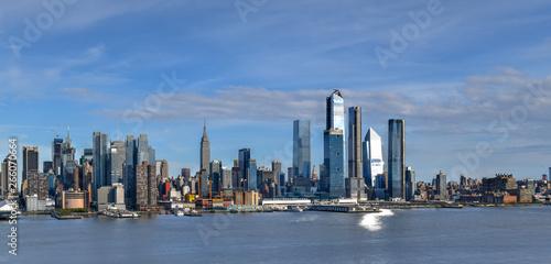 Fotografie, Tablou  Manhattan Skyline from New Jersey