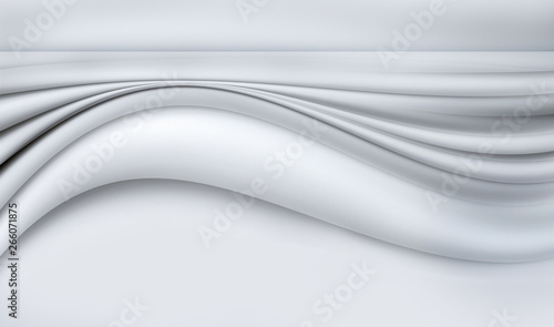 Photo Stands Abstract wave abstract white background