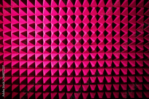Recording studio sound dampening acoustic foam, background Canvas-taulu