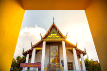 Wat Phra Mahathat Or Phra Mahathat Temple In Nakhon Si Thammarat Province Thailand