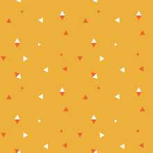 A Repeating Geometric Triangle Background