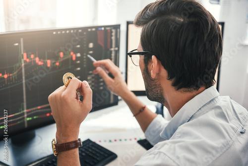 Fotografia  Exchange stock market