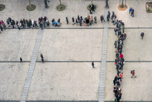 Queue View From Above