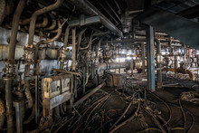 Interior Of An Old Abandoned I...