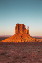 Monument Valley At Sunset, Uta...