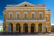Exposure done in the main square of Matanzas, with its beautiful and colorful renovated buildings.