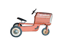 Retro Tricycle Children Toys, Vintage Tricycle