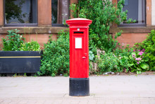 Traditional Old Red Post Box F...