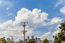 Summer Suburban View With Melb...