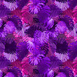 canvas print picture - Adorable seamless design pattern with tropical leaves, can be used as wallpaper
