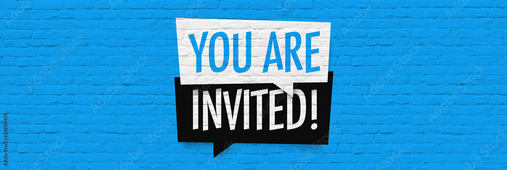 Fototapety, obrazy: You are invited !