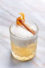 Whisky Sour Alcohol Cocktail W...