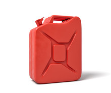 3d Rendering Of Red Gas Can Is...