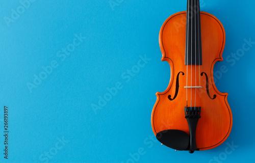 Obraz na plátně Classical music festival poster violin