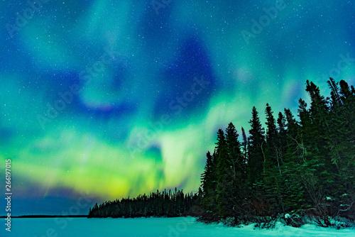 Keuken foto achterwand Noorderlicht Northern Lights