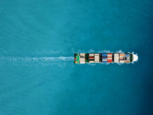 Container Ship In Export And I...