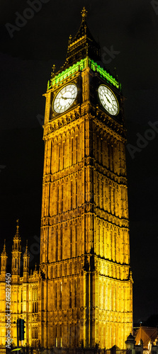 Elizabeth Tower, previously called the Clock Tower but more popularly known as Big Ben