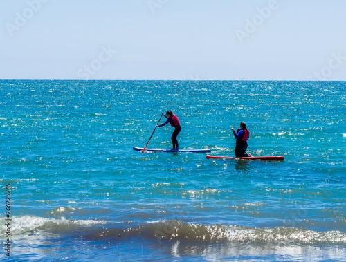 Paddle surf Canvas Print