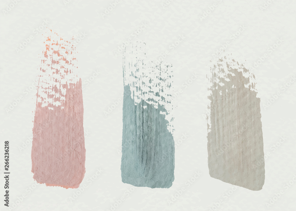 Fototapety, obrazy: Brush stroke samples