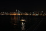 Fototapeta Londyn - Hong Kong night by the bay