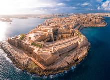 Fort St Elmo, Valletta, Malta,...
