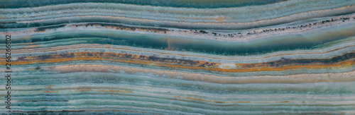 agate texture, turquoise sea background Canvas Print
