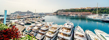 Panoramic View Of Port In Mona...