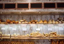Freshly Baked Gourmet Bread Fo...