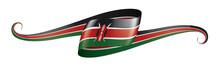 Kenya Flag, Vector Illustratio...