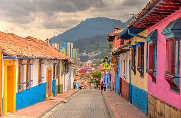 Bogota, La Candelaria histo...