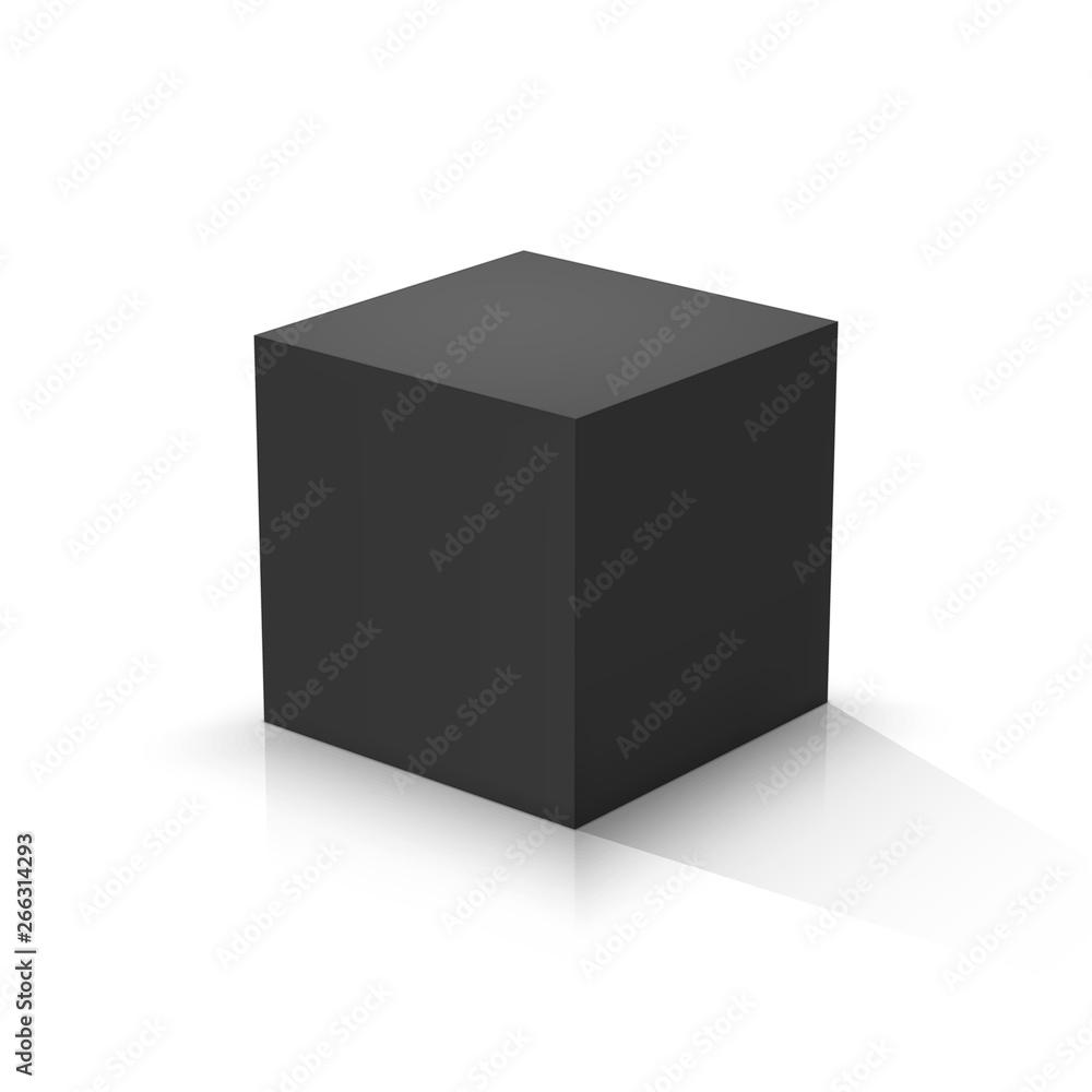 Fototapety, obrazy: Black cube