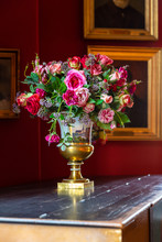 Vase Flowers In The Interior O...