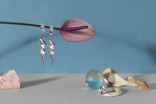 Organic Flower With Jewellery
