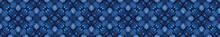 Indigo Blue Mosaic Quilt Tile ...